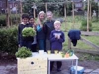 groente uit ecologische tuin