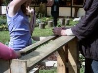 aanleg permacultuur-leertuin